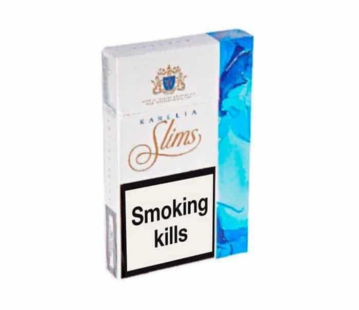 Buy Karelia Slims Blue Cigarettes Online
