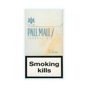Buy online PallMall SS White