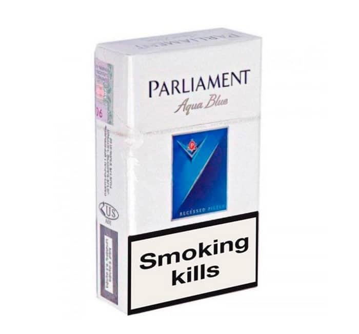 Parliament Aqua Blue cigarettes