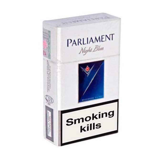 Buy online Parliament Night Blue