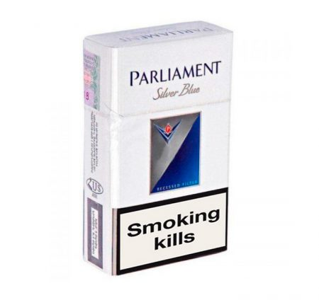 Buy online Parliament Silver Blue