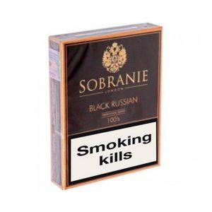 Buy Online Sobranie Black Russian