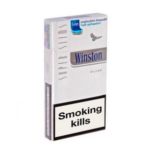 Winston Super Slims Silver online