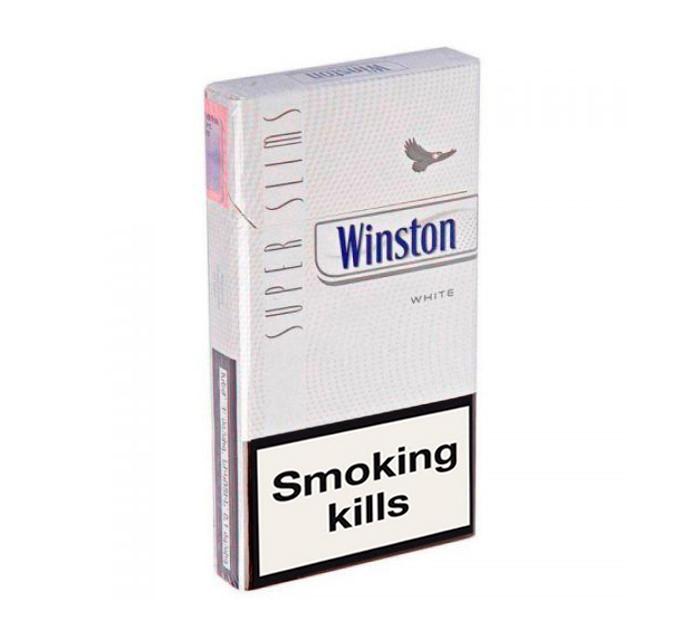 Buy Winston SuperSlims White cigarettes