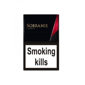 Buy Online Sobranie Black