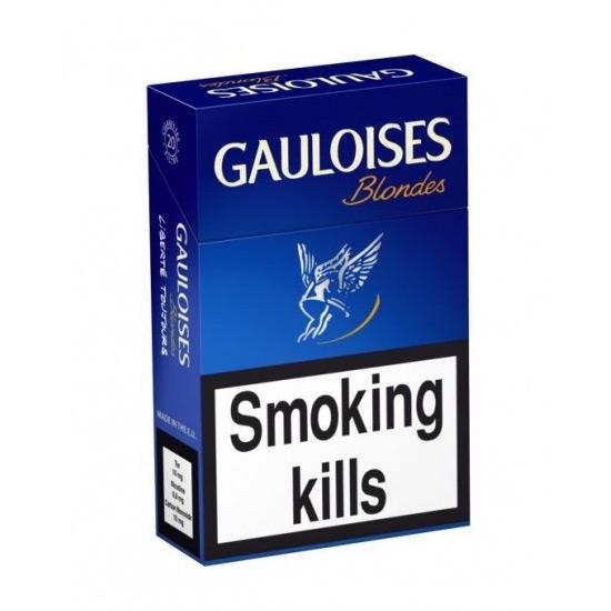 Buy Online Gauloises Blondes Blue